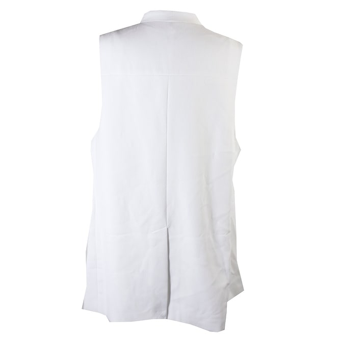 f84c5204e93cc3 Shop Alfani Plus Size Bright White Sleeveless Crepe Vest 16W - Free  Shipping On Orders Over $45 - Overstock - 24164349