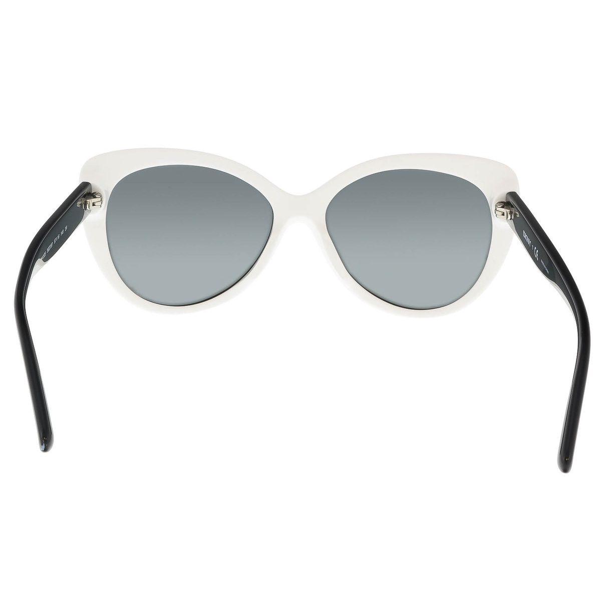 b566862745 Shop Donna Karan DY 4125 3627 87 Black White Cateye Sunglasses - 57-16-140  - Free Shipping On Orders Over  45 - Overstock - 17740638