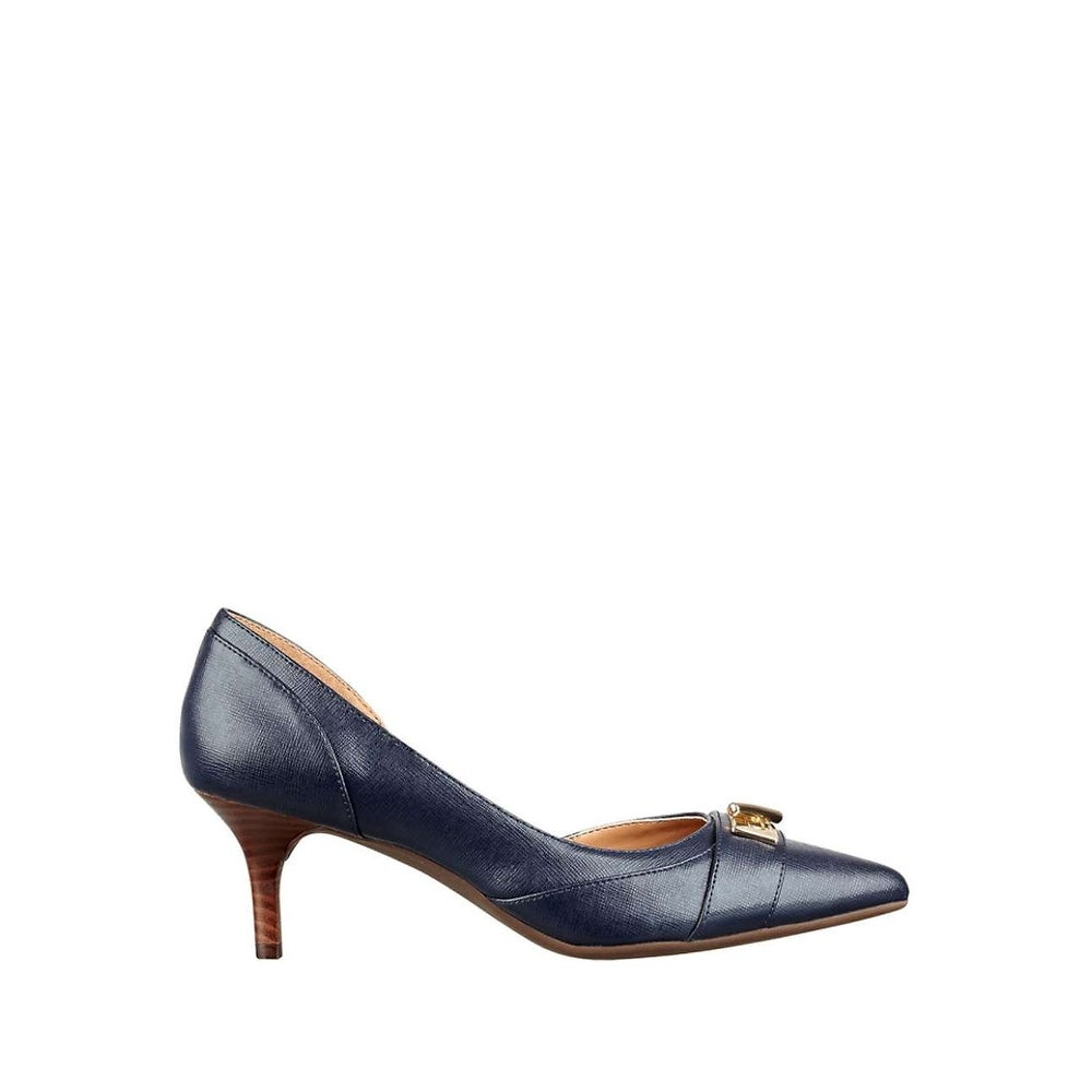 6fbd68ed877e22 Shop Tommy Hilfiger Womens Joetta3 Pointed Toe D-orsay Pumps - Free  Shipping On Orders Over  45 - Overstock - 15318044