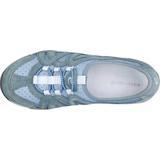 dbfdfbb50e20d Easy Spirit Women's Explorie Sneaker Medium Blue Suede/Mesh