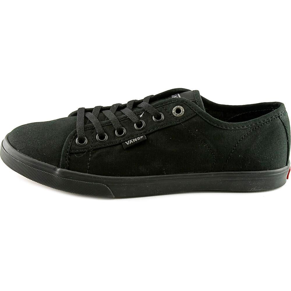 db7ba2ce7a4 Vans Ferris Lo Pro Women Round Toe Canvas Black Skate Shoe
