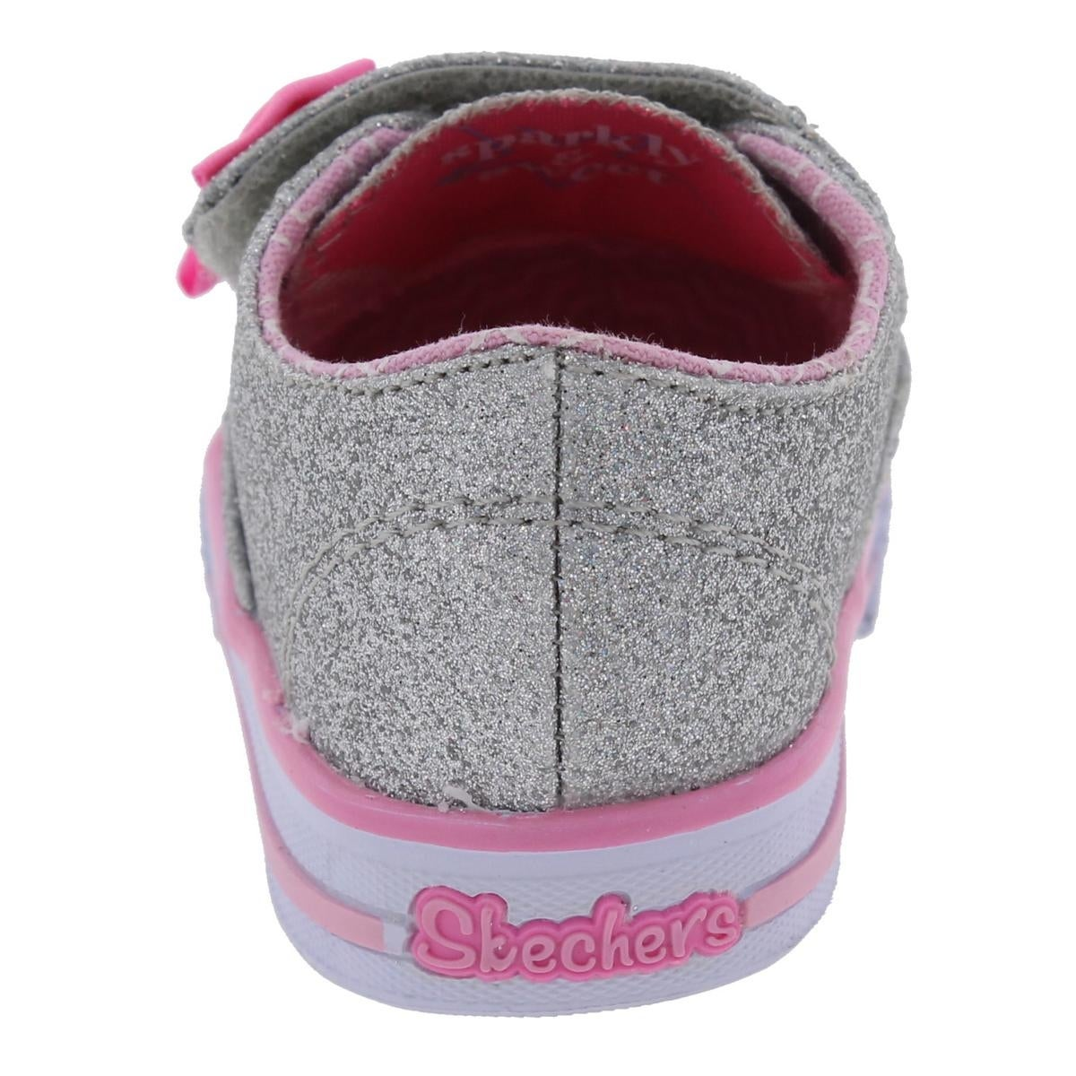 f9d23cb57849 Shop Twinkle Toes by Skechers Shuffles Glamour Baby Casual Shoes Glitter  Low Top - 1 medium (b