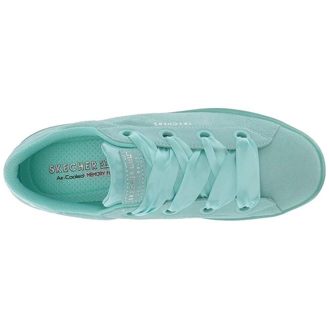 d65d0c45e8a0 Shop Skecher Street Womens Hi-Lite-Suede Satin Sneaker
