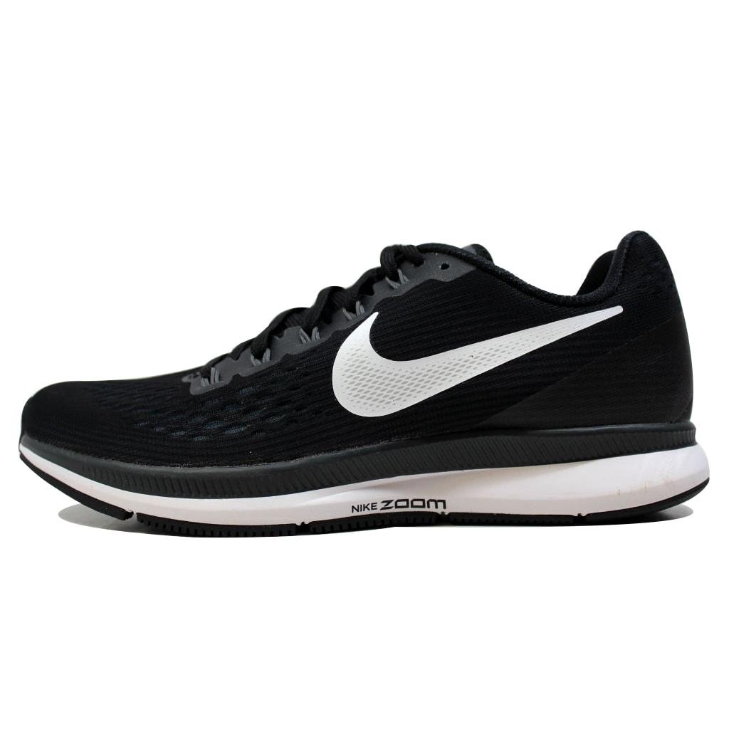 706cc022ecc Shop Nike Women s Air Zoom Pegasus 34 Black White-Dark Grey 880560-001 -  Free Shipping Today - Overstock - 20131460