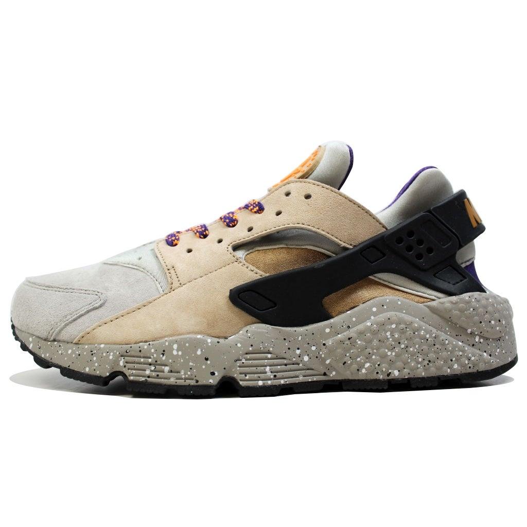 ffbf29dc72d8 Shop Nike Men s Air Huarache Run Premium Linen Golden Beige-Black ACG 704830-200  - Free Shipping Today - Overstock - 20139485
