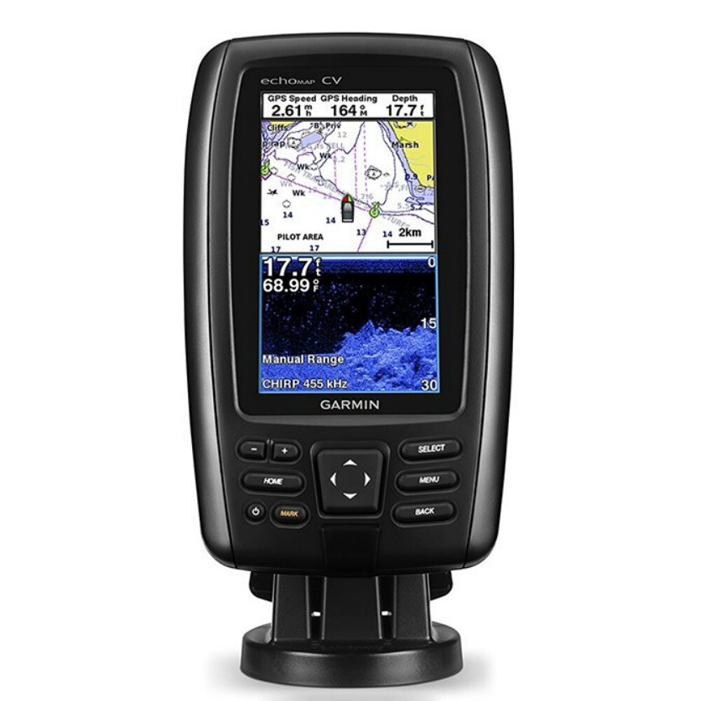 Shop Garmin echoMAP CHIRP 44cv with ClearVu transducer echoMAP CHIRP 44cv  with ClearVu transducer - Free Shipping Today - Overstock.com - 21607077