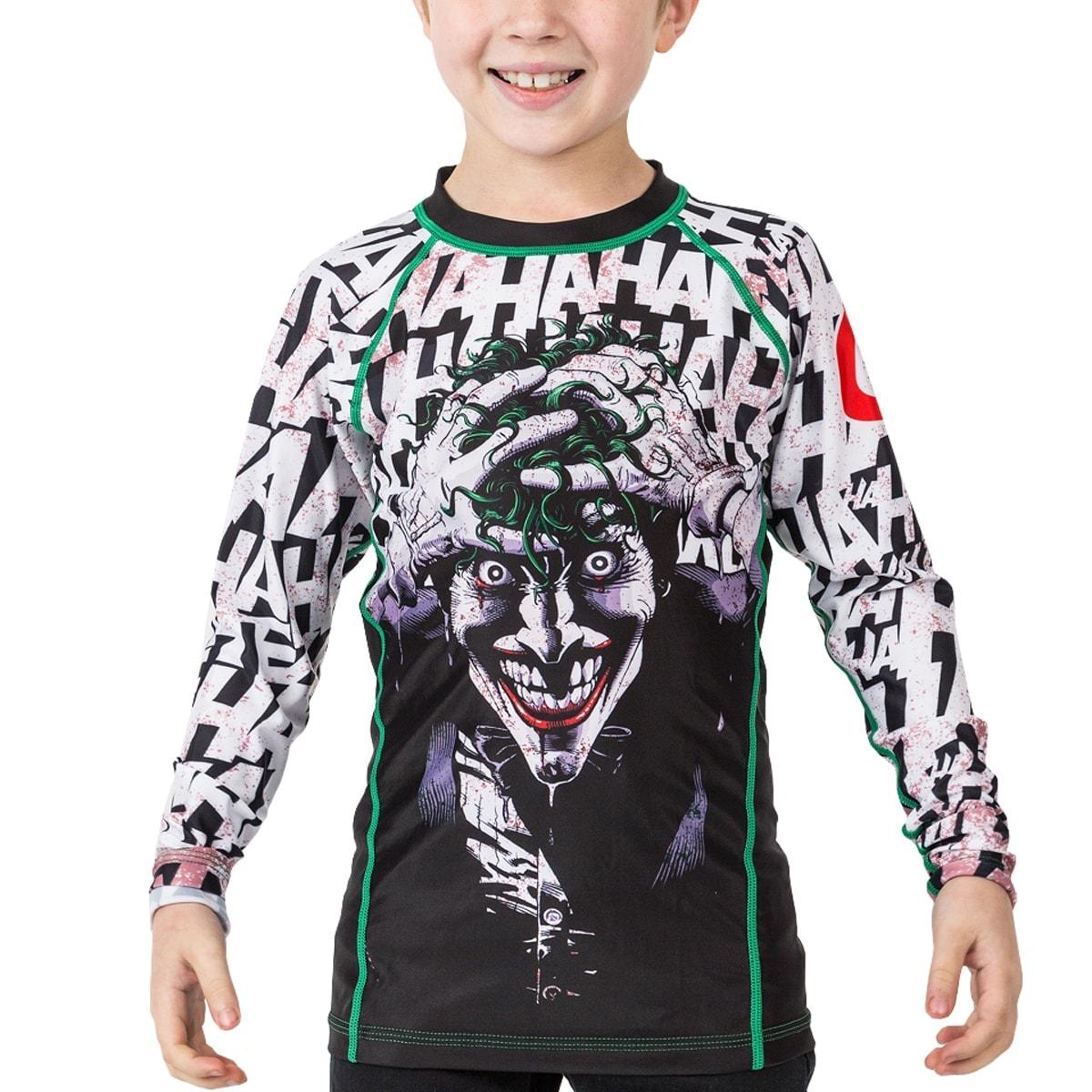 166ea3e3fc9b Shop Fusion Fight Gear Kid s Batman The Killing Joke Long Sleeve ...