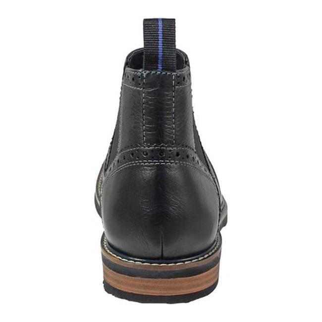 690e945e88cb Shop Nunn Bush Men s Otis Plain Toe Chelsea Boot Black Tumble Leather -  Free Shipping Today - Overstock - 22864195
