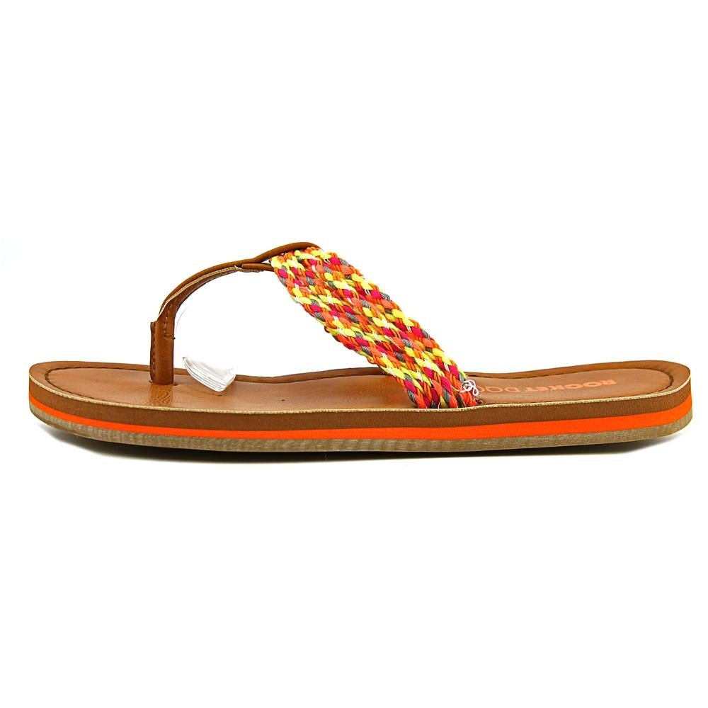 dc2ac3984df2 Shop Rocket Dog Playa Women Open Toe Canvas Thong Sandal - Free Shipping On  Orders Over  45 - Overstock - 13713162