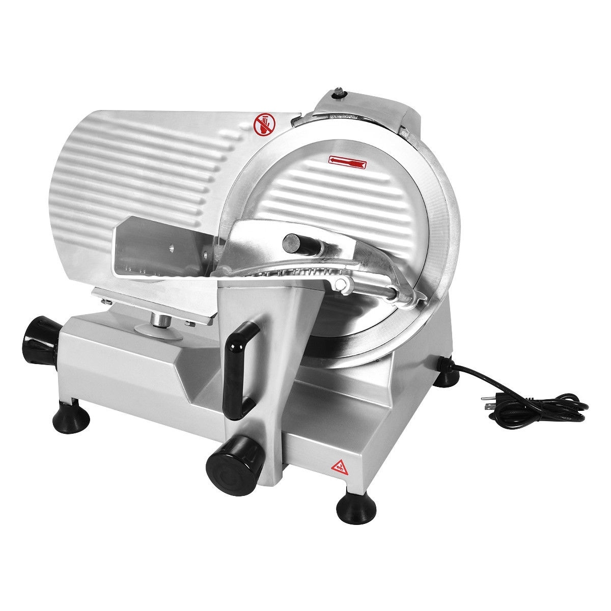 Shop Costway 9\'\' Blade Commercial Meat Slicer Deli Meat Cheese Food ...