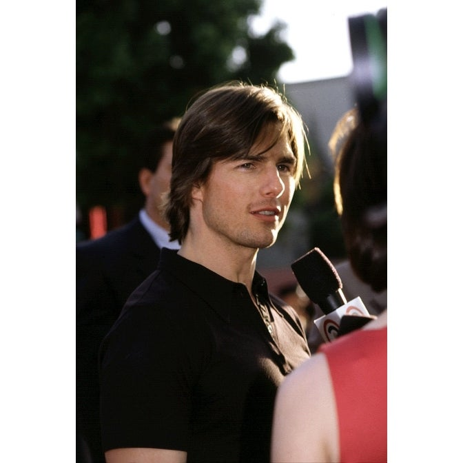 Shop Tom Cruise At Premiere Of Mission Impossible 2 500 La Ca By Robert Bertoia Celebrity Overstock 24394127