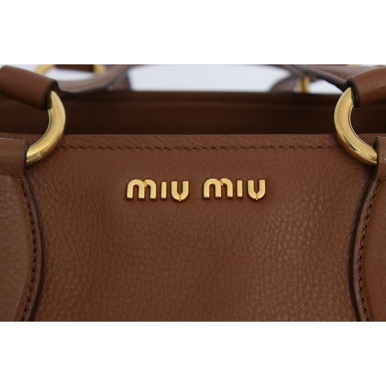 84b7c6acfe8c Shop miu miu Miu Miu Vitello RR1901 2A7T F0134 - One size - Free Shipping  Today - Overstock - 21178094