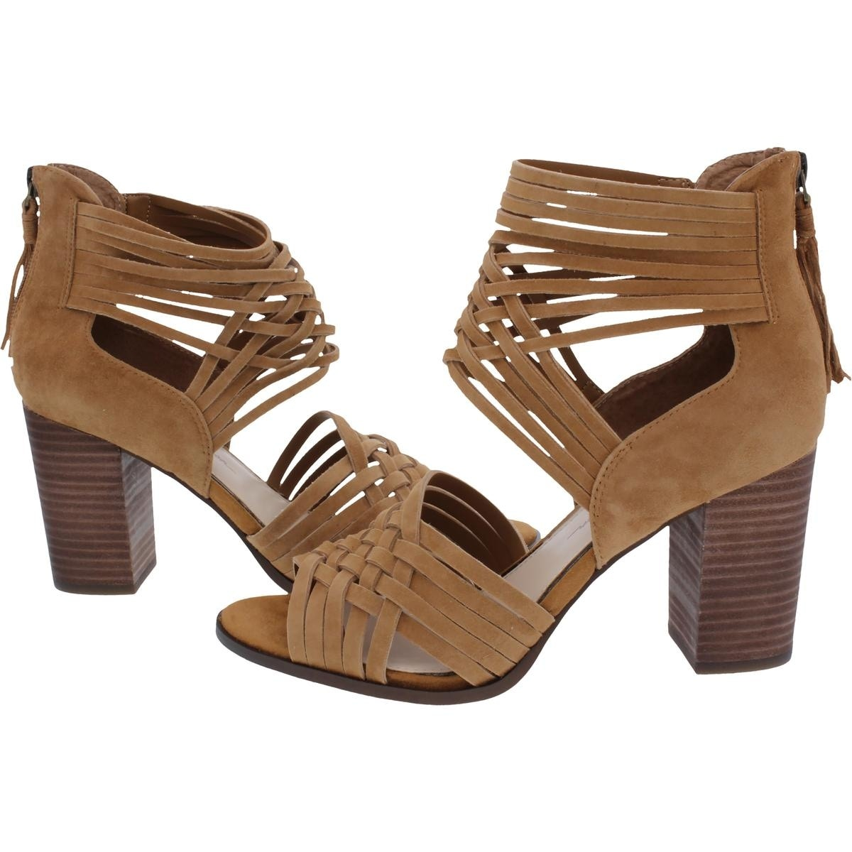 dc11513fe0b Shop Jessica Simpson Womens Reilynn Gladiator Sandals Woven Block Heel -  Free Shipping Today - Overstock - 21732422