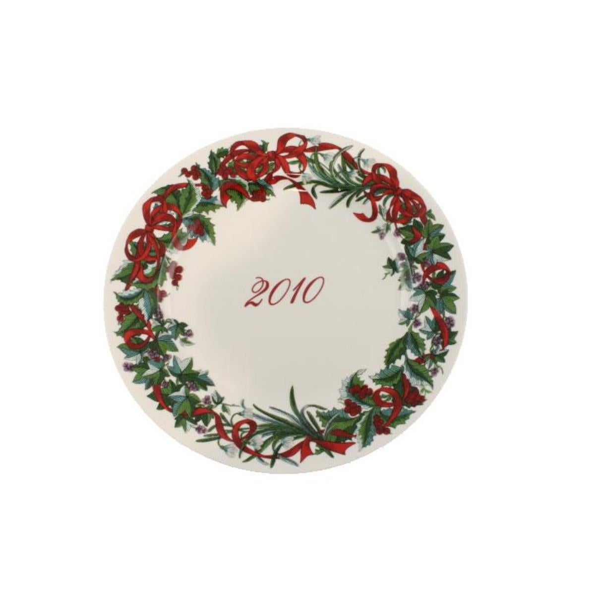 Martha Stewart Holiday Garden 2010 Plate Porcelain Dinnerware - Free Shipping On Orders Over $45 - Overstock - 19867665  sc 1 st  Overstock.com & Martha Stewart Holiday Garden 2010 Plate Porcelain Dinnerware - Free ...