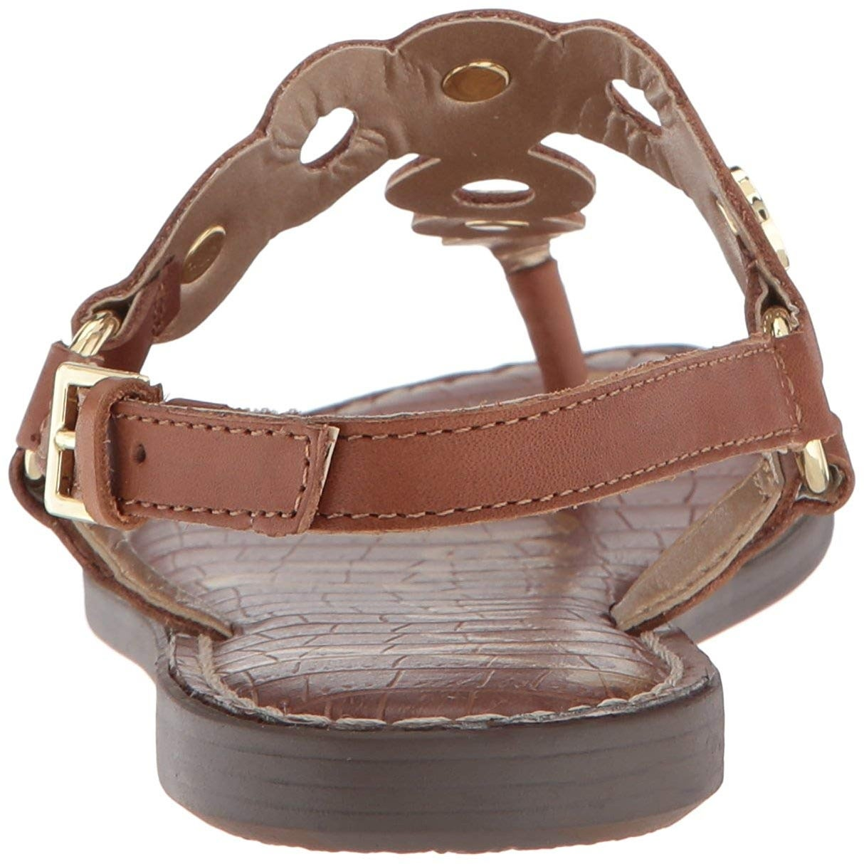 12b45072512284 Shop Sam Edelman Women s Gilly Flat Sandal - 7.5 - On Sale - Free Shipping  On Orders Over  45 - Overstock.com - 23130711
