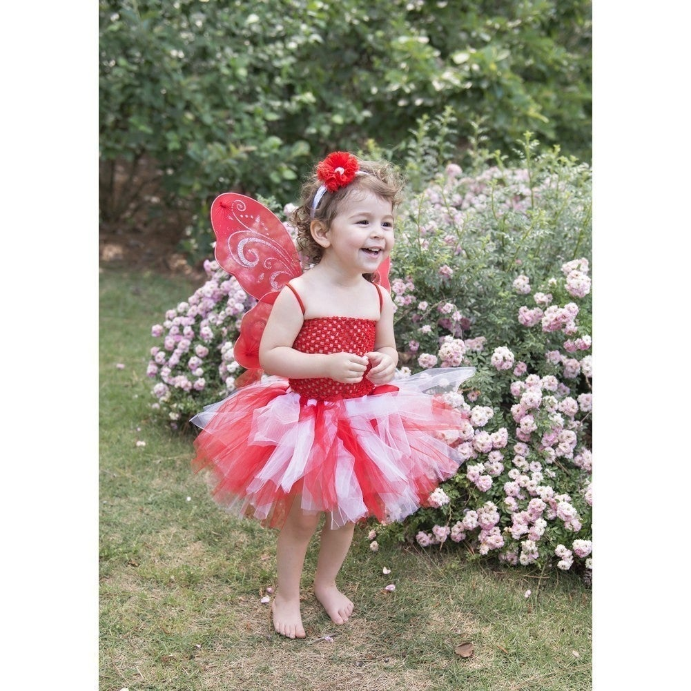 10e0bcda9dc705 Shop Little Girls Red White Super Fluffy Tutu Skirt 1-4T - Free Shipping On  Orders Over  45 - Overstock - 18120894