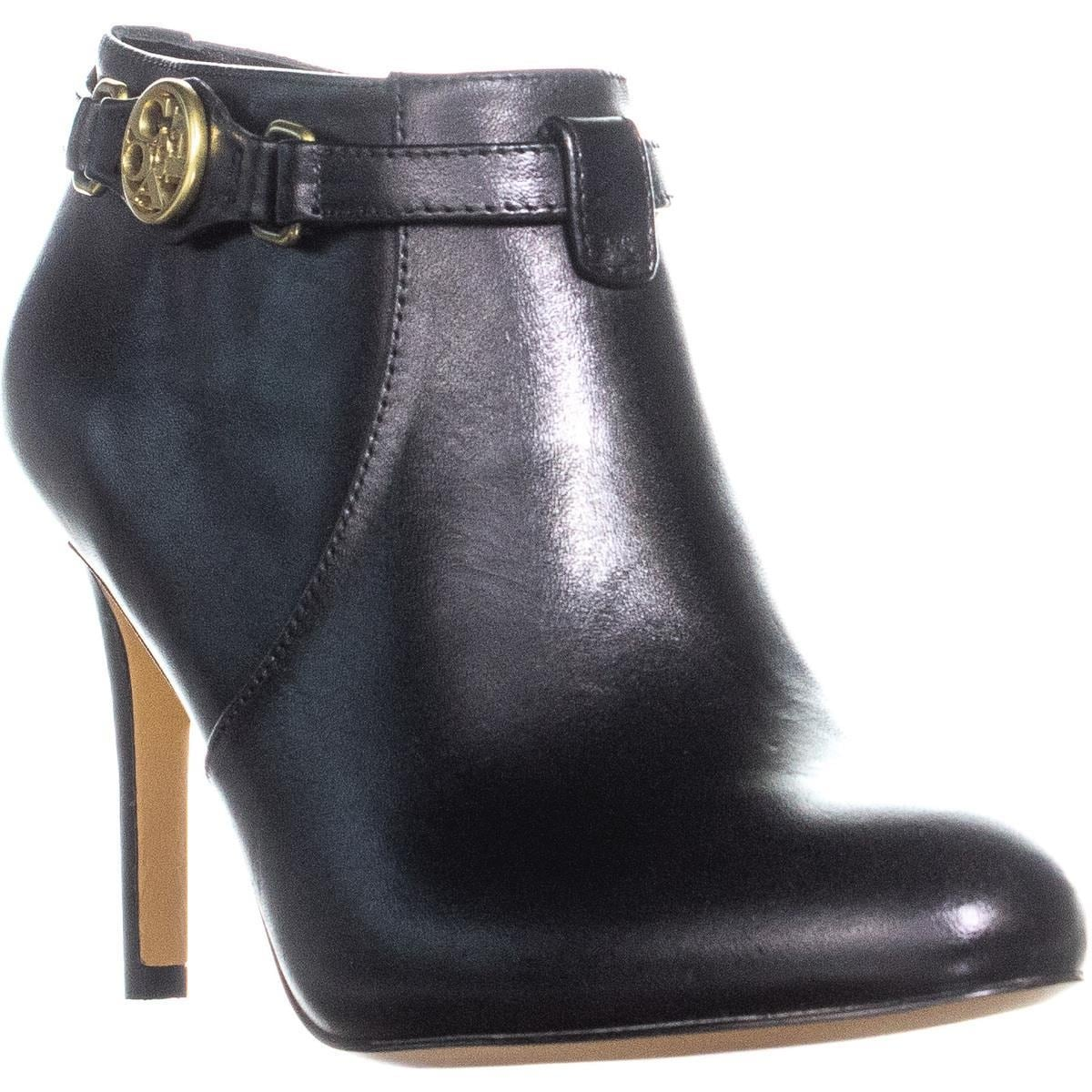 85949bf661f Coach Salene Side Logo Zip Up Ankle Boots, Black - 6 us / 36 eu