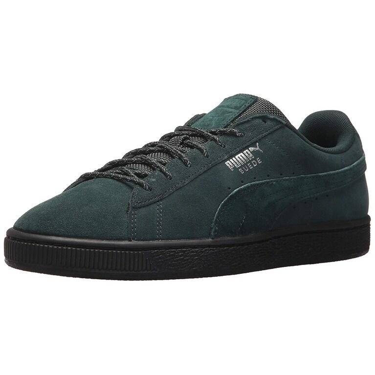 e7535d914de8 Shop PUMA Men s Suede Classic Weatherproof Sneaker - Free Shipping ...
