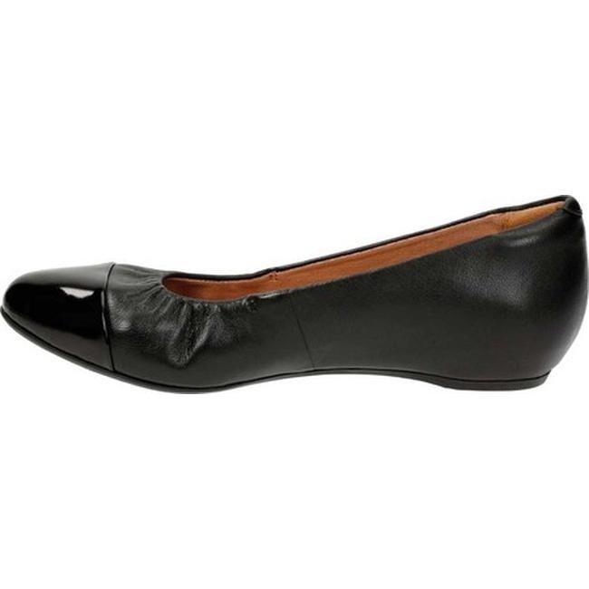 722bcbe090 Shop Clarks Women's Alitay Susan Ballet Flat Black Full Grain Leather/Polyurethane  - Free Shipping Today - Overstock - 13156118