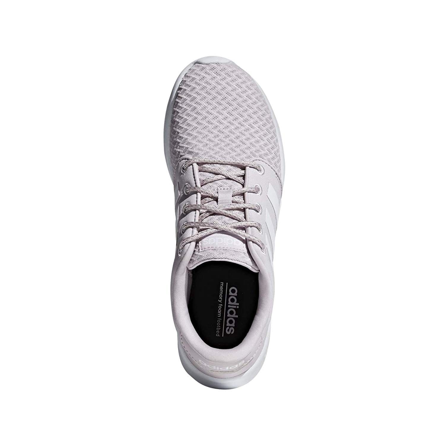 0727b6c4a31 Shop Adidas Cloudfoam Qt Racer Shoe Women s Running 8 Ice Purple-White-Light  Granite - Free Shipping Today - Overstock - 25879957