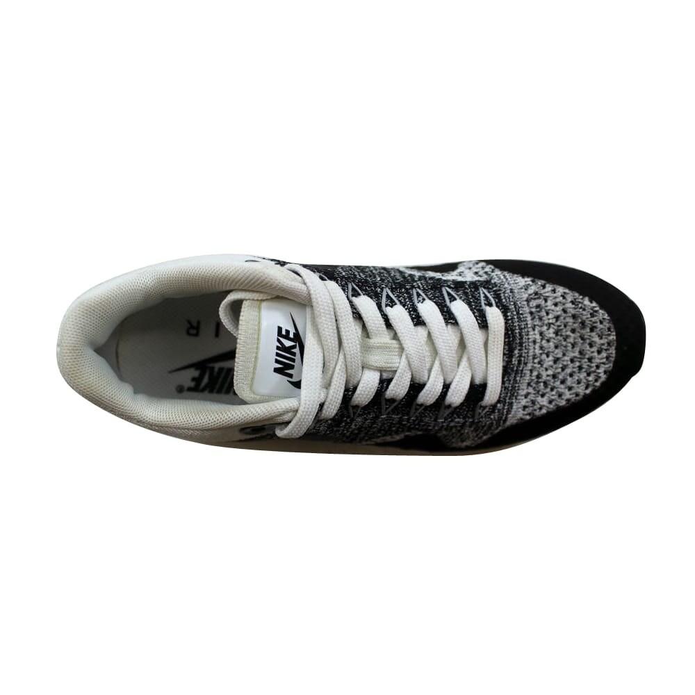 e7d0b6e61561 Shop Nike Air Max 1 Ultra Flyknit White Black-Black 843387-100 Women s -  Free Shipping Today - Overstock - 27339360
