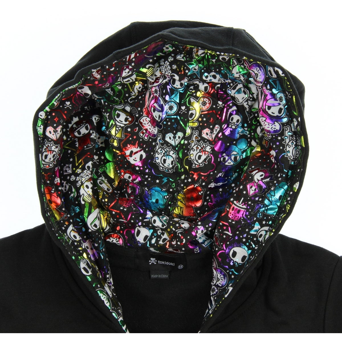 0e41415d7 Shop Tokidoki Women's Rainbow Buds Donutella Palette Hoodie - Free Shipping  Today - Overstock - 24253820