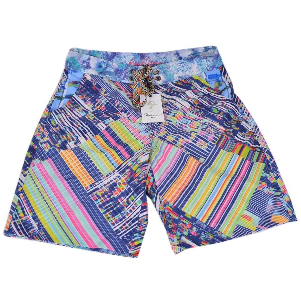 6a00b35484 Robert Graham Men's Classic Fit UNIVERSE Board Shorts Swim Trunks
