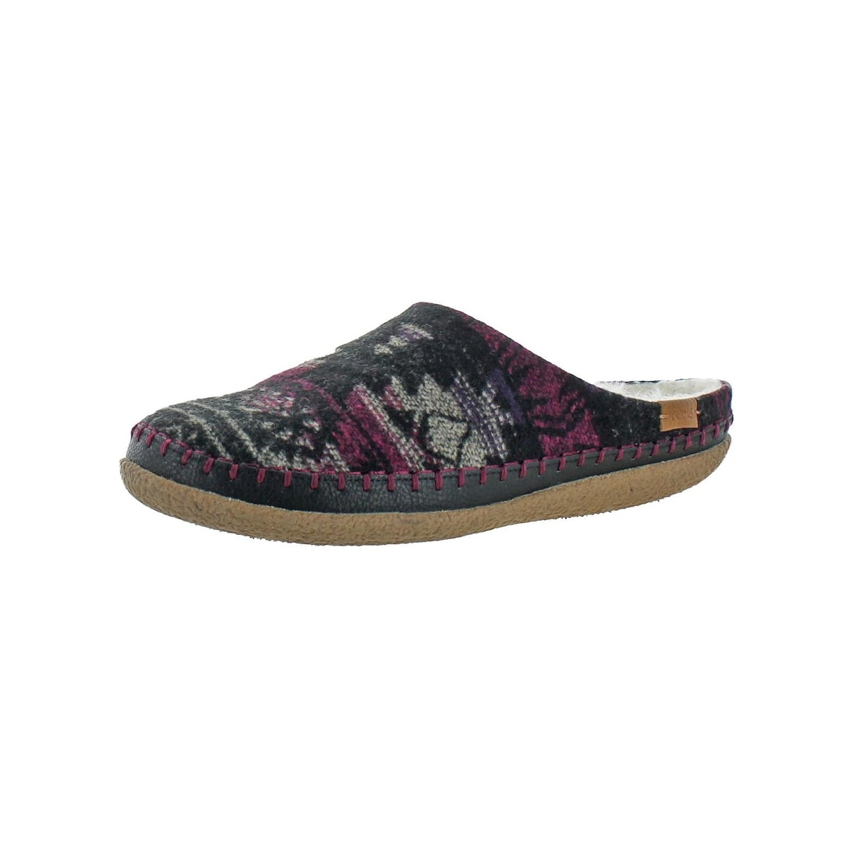 5a9c57b2a8 Shop Toms Womens Ivy Mule Slippers Tribal Print Driver - Free ...