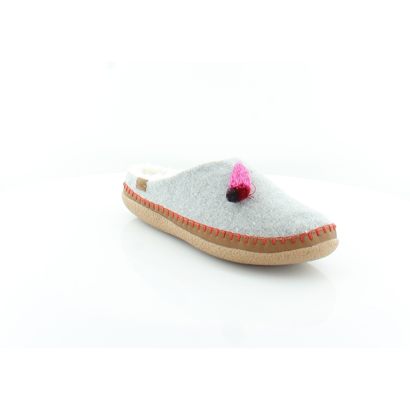950bcb8b94f Shop TOMS Classic Ivy Women s Slippers Drizzle Grey - Free Shipping On  Orders Over  45 - Overstock - 25616180