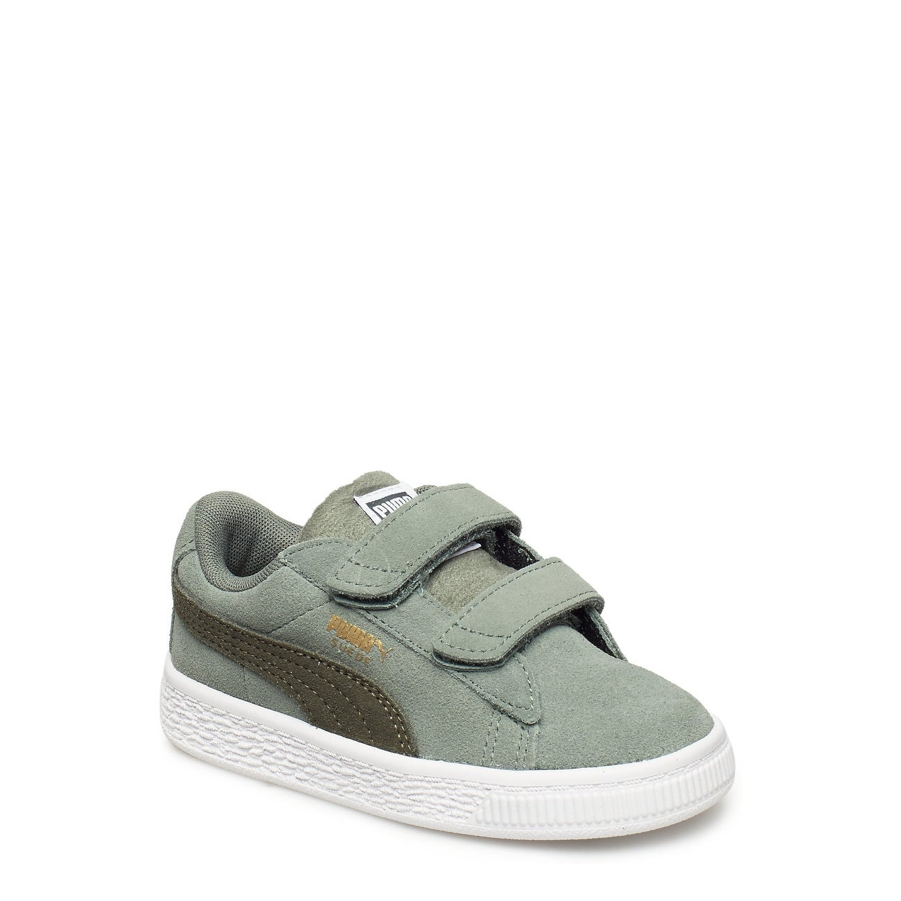 404b4840fc638a Shop Kids Puma Girls Classic V Inf Suede Low Top Fashion Sneaker ...