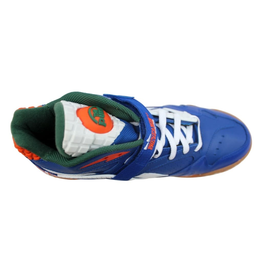 Shop Reebok Men s Pump Paydirt Mid Royal Green-White-Orange Florida Gators  V60292 - Free Shipping Today - Overstock - 20131483 7736cea63