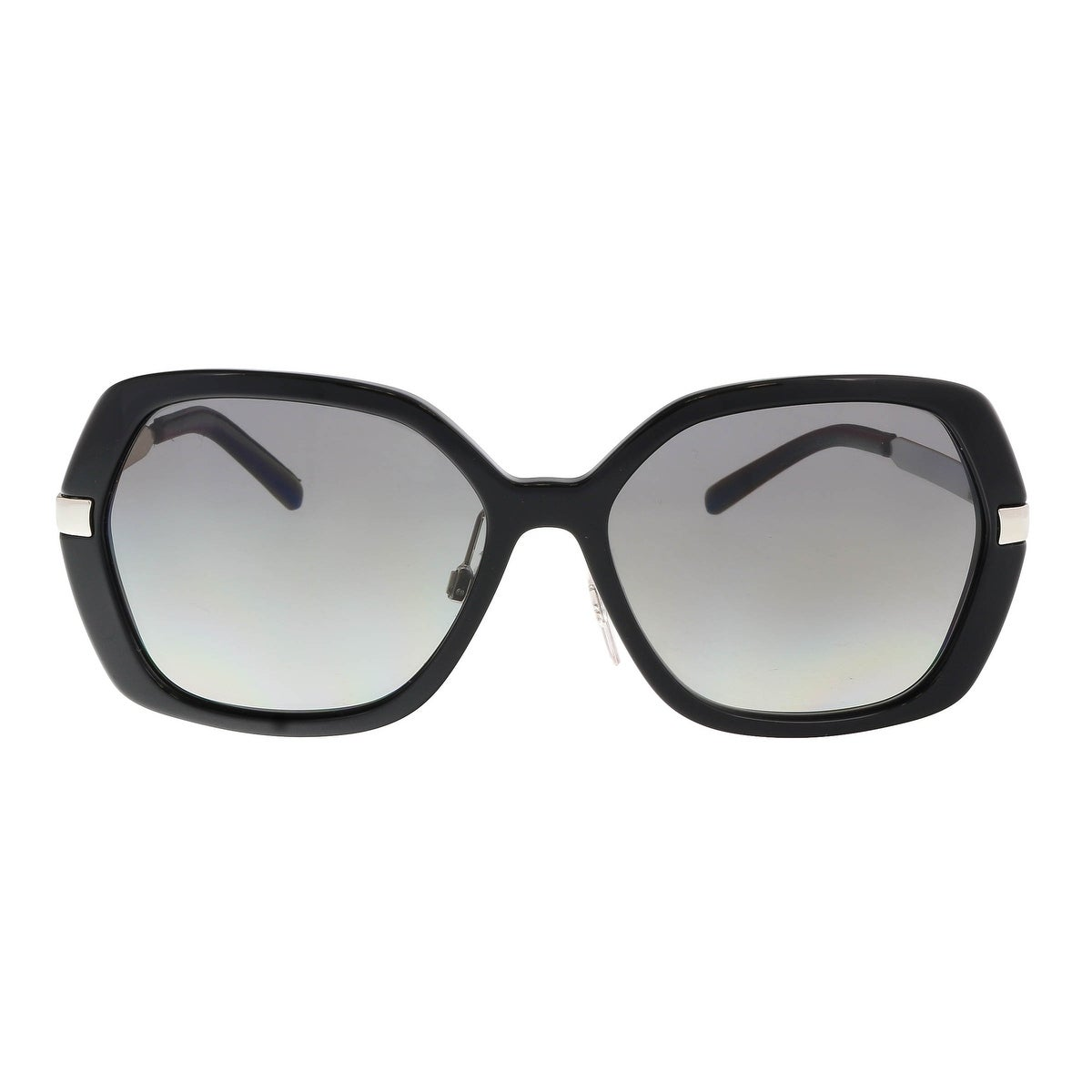 cbc498d00f0 Shop Burberry BE4153Q 300111 Black Square Sunglasses - 58-16-135 - Free  Shipping Today - Overstock - 19583428