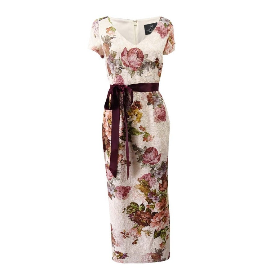 02896399 Shop Adrianna Papell Women's Petite Floral-Print A-Line Gown (4P, Soft  Rose) - Soft Rose - 4P - On Sale - Free Shipping Today - Overstock -  24240525