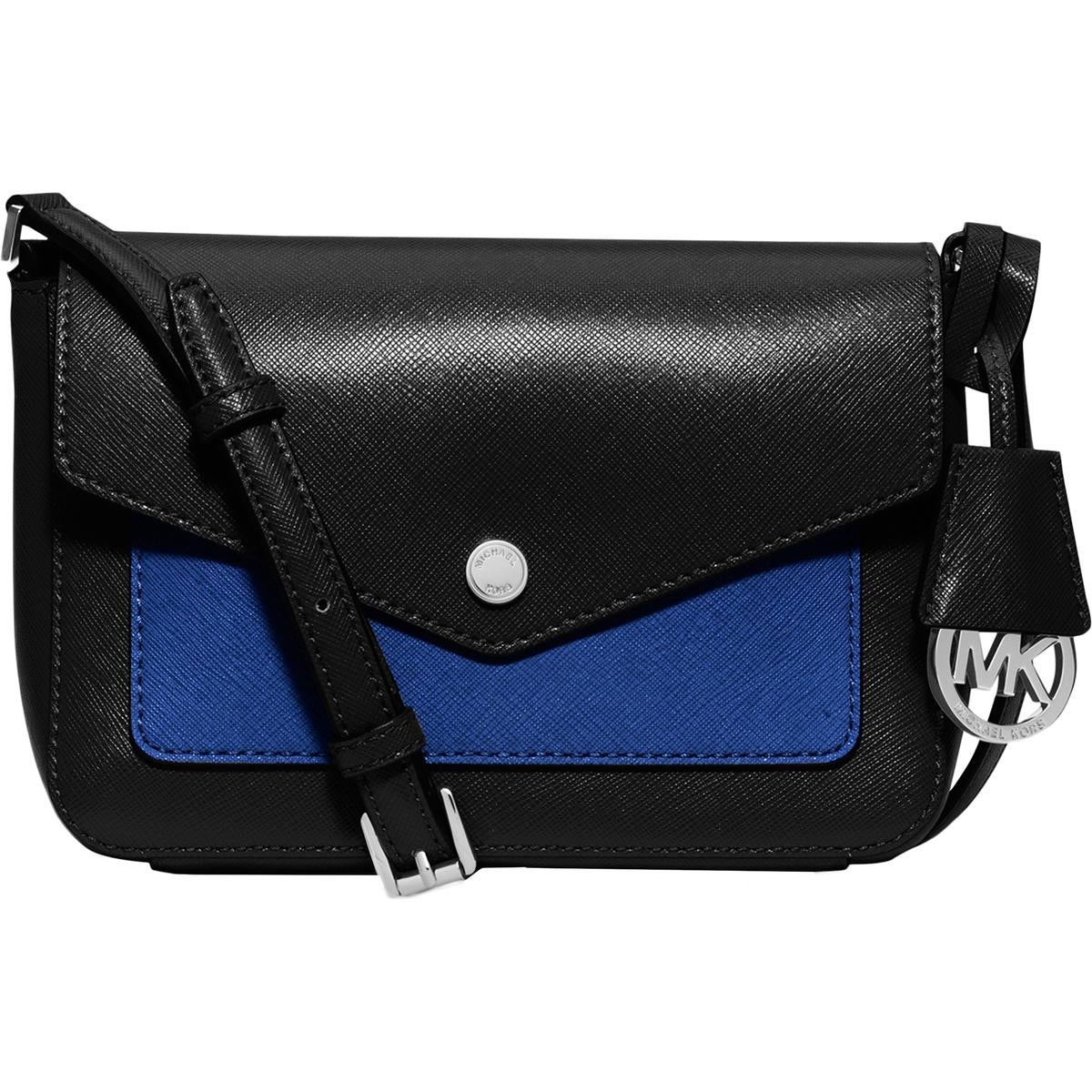 ad6ad15bdadfc0 Shop MICHAEL Michael Kors Womens Greenwich Color Pkt Crossbody Handbag  Leather - small - Free Shipping Today - Overstock - 20619284