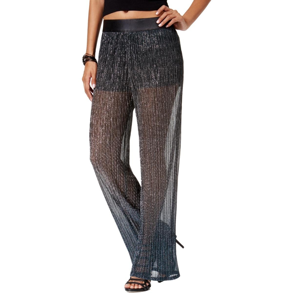 9b62d7d29389 Shop Be Bop Womens Juniors Straight Leg Pants Metallic Ombre - Free  Shipping On Orders Over  45 - Overstock - 27219859