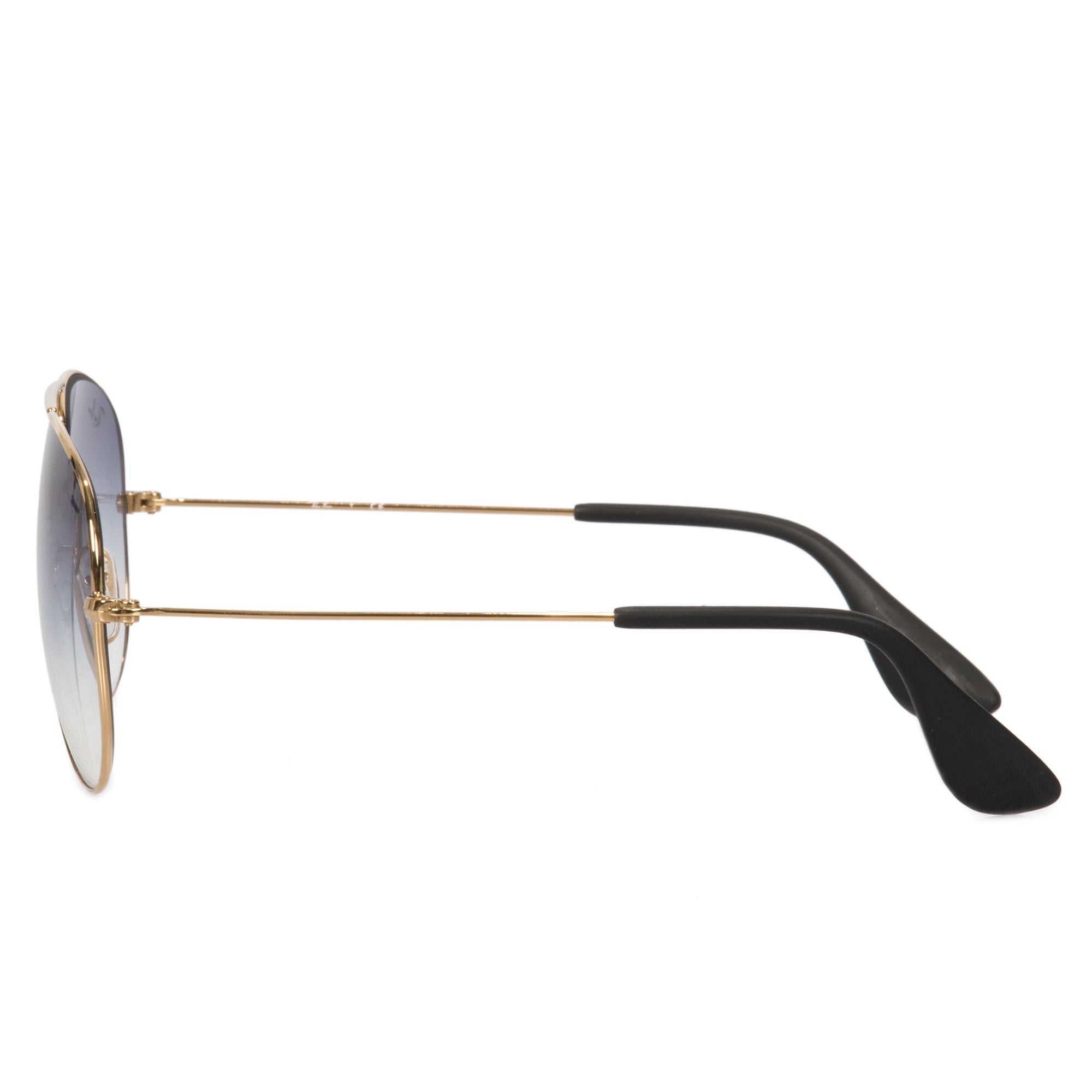 ee4b0b166e8 Shop Ray-Ban Aviator Sunglasses RB3558 001 19 58 - Free Shipping Today -  Overstock - 23138801
