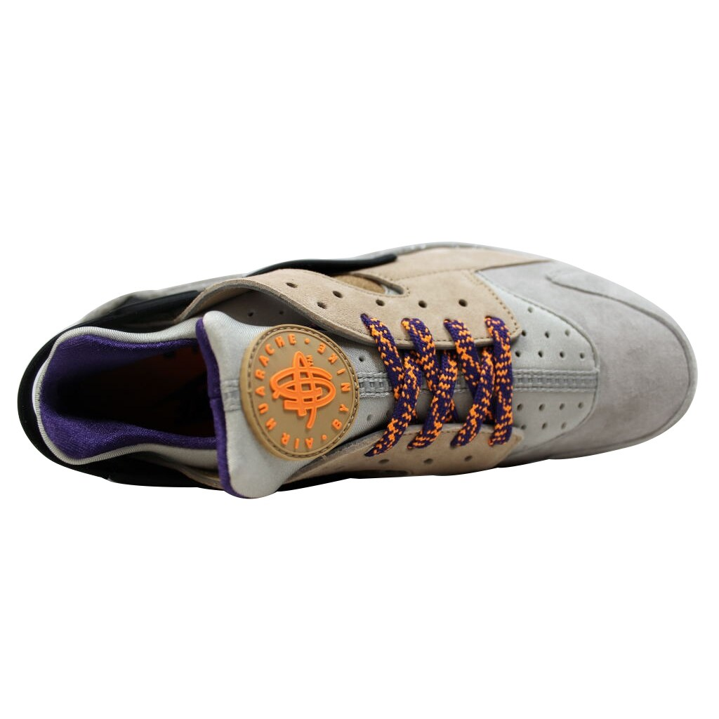 1ce17b982313 Shop Nike Men s Air Huarache Run Premium Linen Golden Beige-Black ACG  704830-200 - Free Shipping Today - Overstock - 20139485