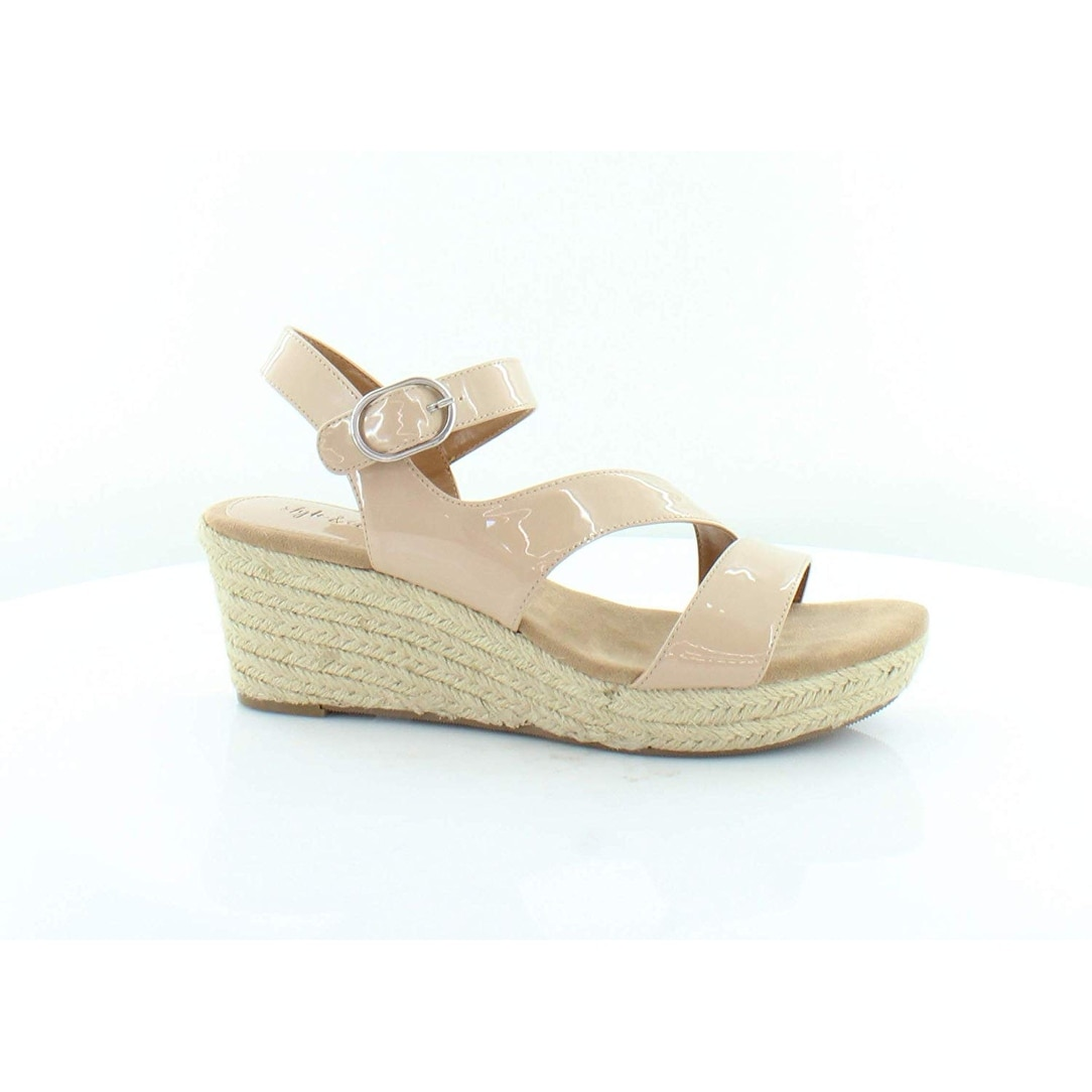 0f8d7d86716 Shop Style   Co. Womens Xenaa Solid Platforms Espadrilles - Free Shipping  On Orders Over  45 - Overstock - 27973911