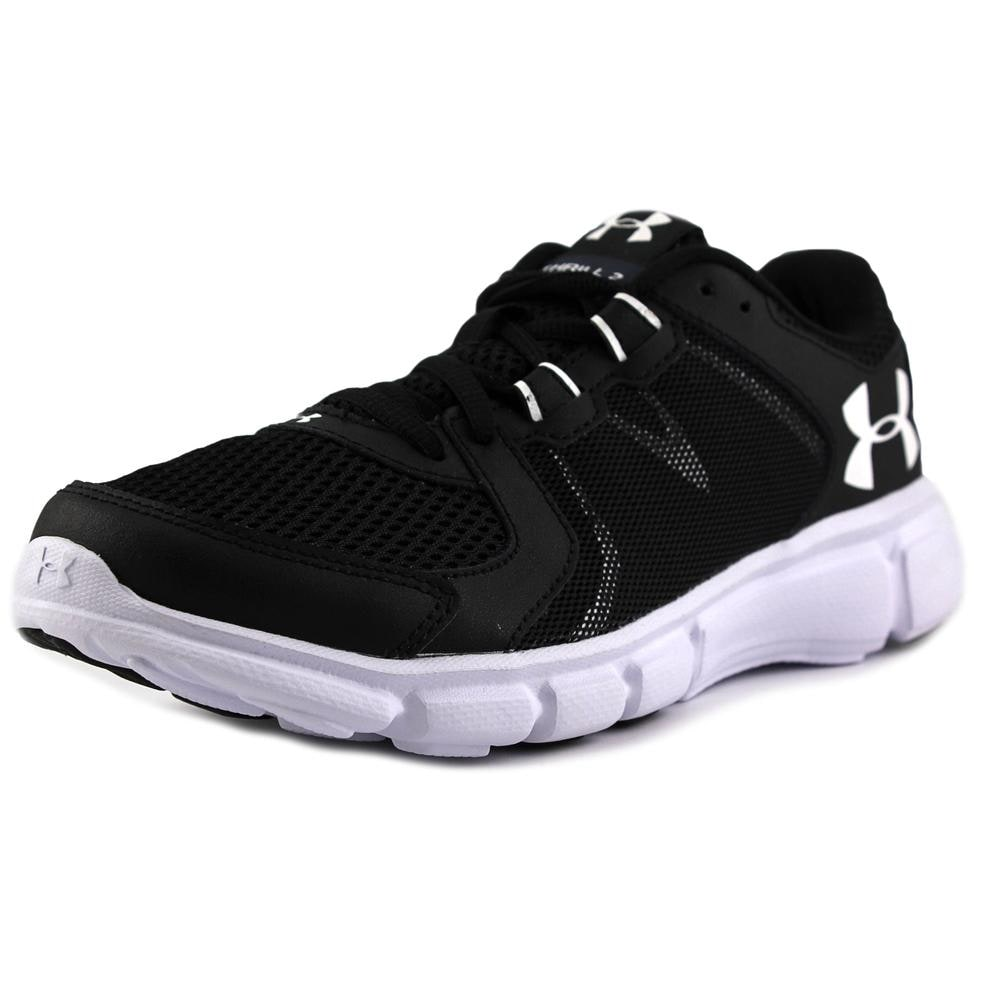 size 40 168a2 541f4 Under Armour Thrill 2 Women Round Toe Synthetic Black Sneakers