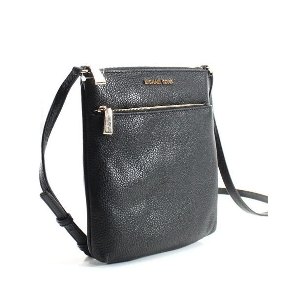 Shop Michael Kors NEW Black Pebble Leather Small Riley Cross Body Purse Bag  - Free Shipping Today - Overstock - 19830206 3775903d9