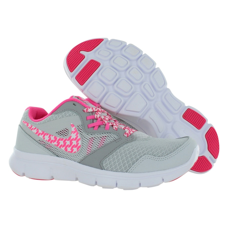 e6c79569e6fe Shop Nike Flex Experience 3 Gs Running Junior s Shoes - Free Shipping Today  - Overstock - 22253020