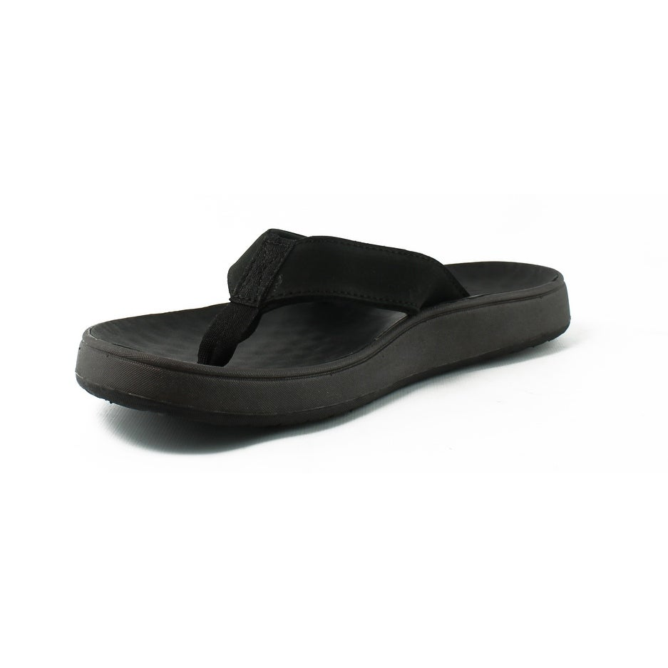 4f928dff37fa Shop Bogs Mens Hudson Ii Black Flip Flops Size 7 - On Sale - Free Shipping  On Orders Over  45 - Overstock - 22904310