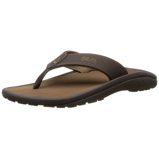 683325be4e Shop Olukai Ohana Sandal - Men s Black Dark Shadow 8 - Free Shipping Today  - Overstock - 18793000
