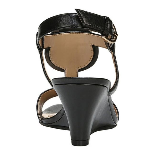 755e6569b09 Shop Naturalizer Women s Talli Slingback Sandal Black Leather - Free  Shipping Today - Overstock - 21008313