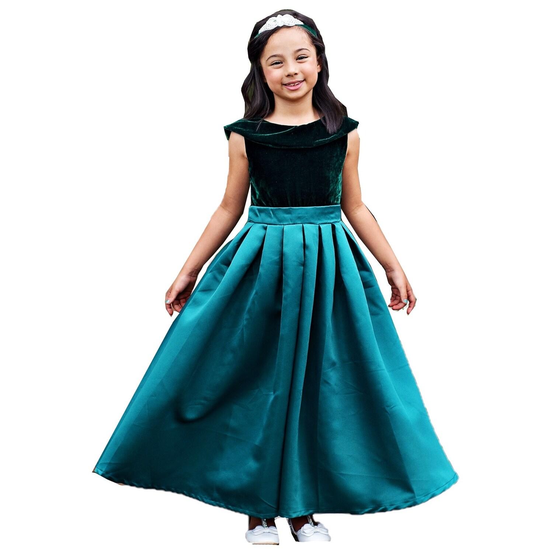 f534bafaf30fa Emerald Green Velvet Skirt
