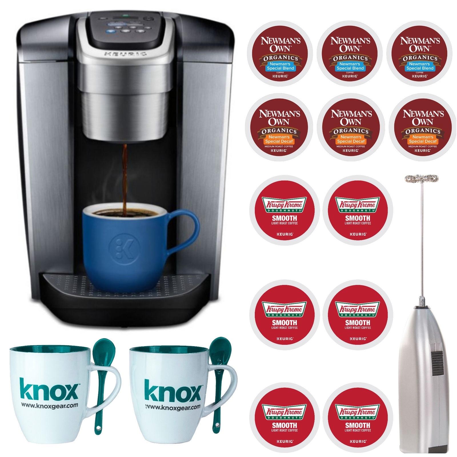 Shop Keurig K Elite Single Serve K Cup Pod Coffee Maker Brushed