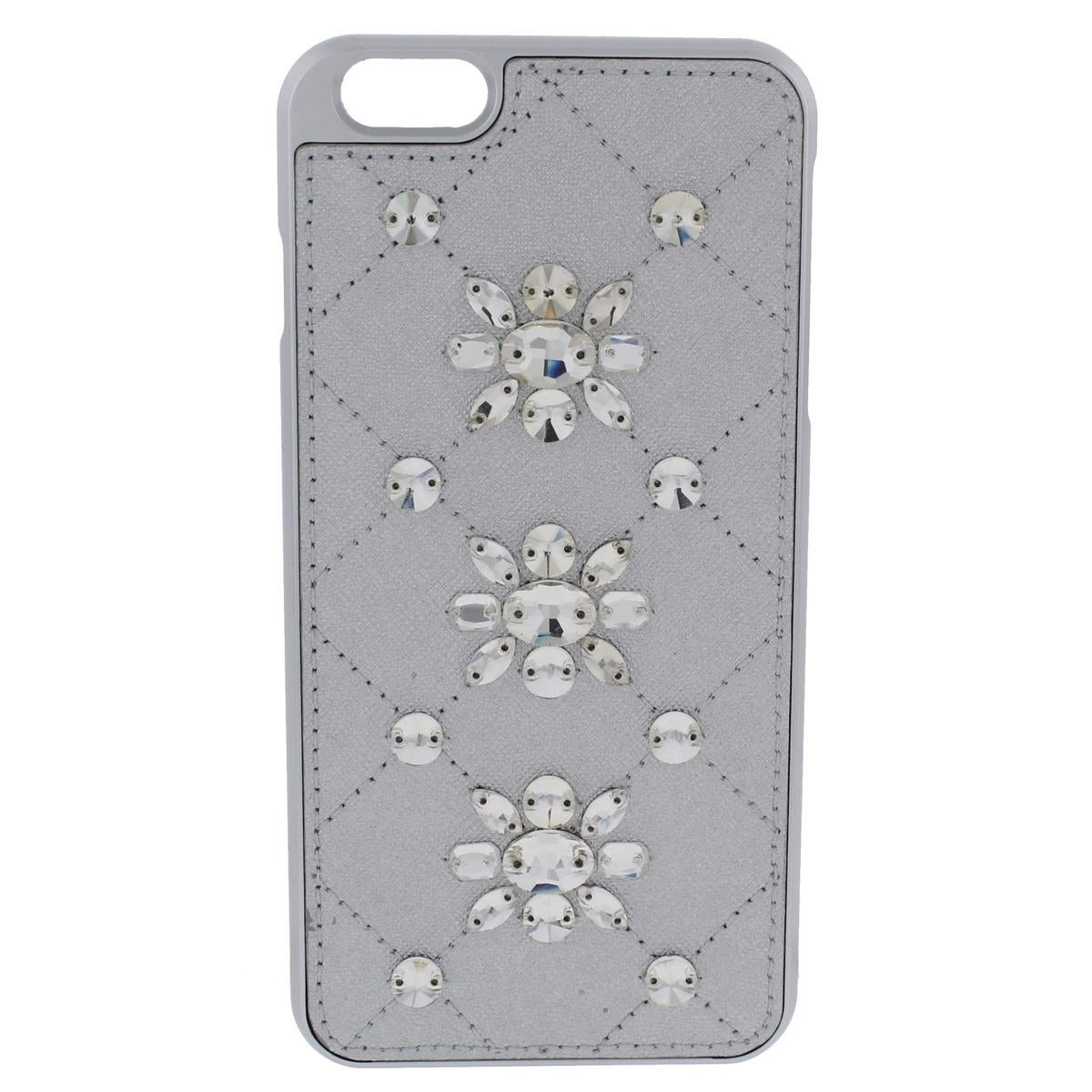 434cb76646ff Shop Michael Kors Cell Phone Case Leather Embellished - Free Shipping On  Orders Over  45 - Overstock - 18949893