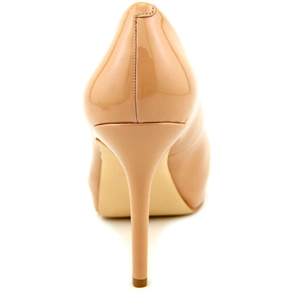 dcf73606e2f2 Shop Nine West QTPie Women Open Toe Synthetic Nude Platform Heel - Free  Shipping On Orders Over  45 - Overstock - 14241844
