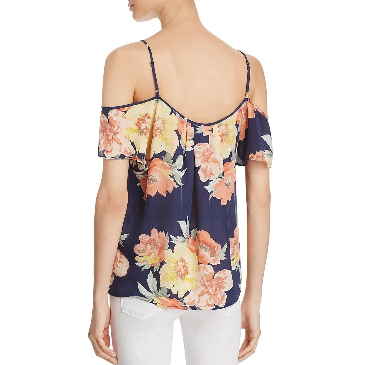 bee5b6d5f489cd Shop Joie Womens ADORLEE Pullover Top Silk Sleeveless - Free Shipping On  Orders Over  45 - Overstock - 22832870