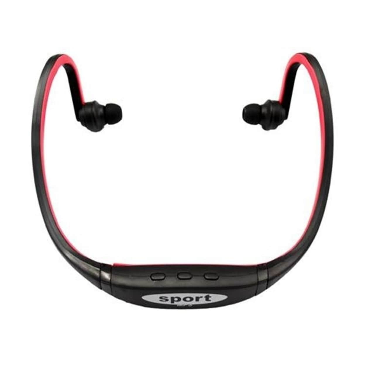 Shop Sport MP3 Player Wireless Handsfree Headset Headphones Music Player Neckband Headset Support Micro SD/TF Card + FM Radio - Free Shipping On Orders Over ...